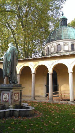 Potsdam Park Sanssouci Arch Architecture History No People Built Structure Tree Day Outdoors Building Exterior Statue Grass Sky