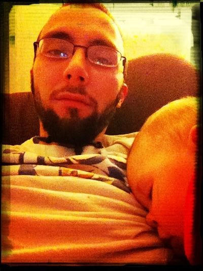 Nap Time On Daddy Lol I Love Her