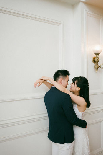 Asian  Engagement Relationships Wedding Well Dressed Love ♥ Sweet Couple Young Couple
