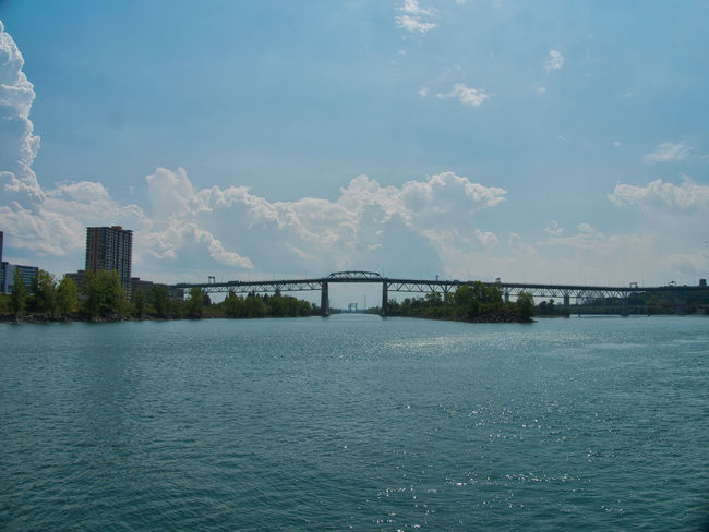 Architecture Bridge Bridge - Man Made Structure Building Exterior Built Structure City Cloud - Sky Connection Day Nature No People Outdoors River Scenics - Nature Sky Transportation Water Waterfront