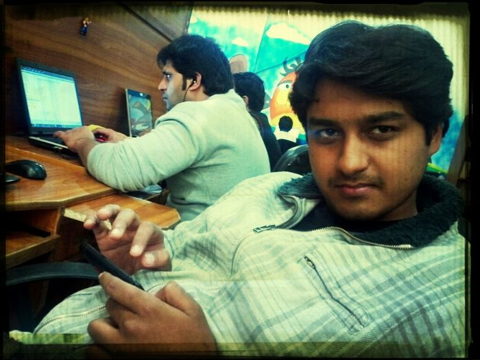 Ahsan performing QA in a relaxing way