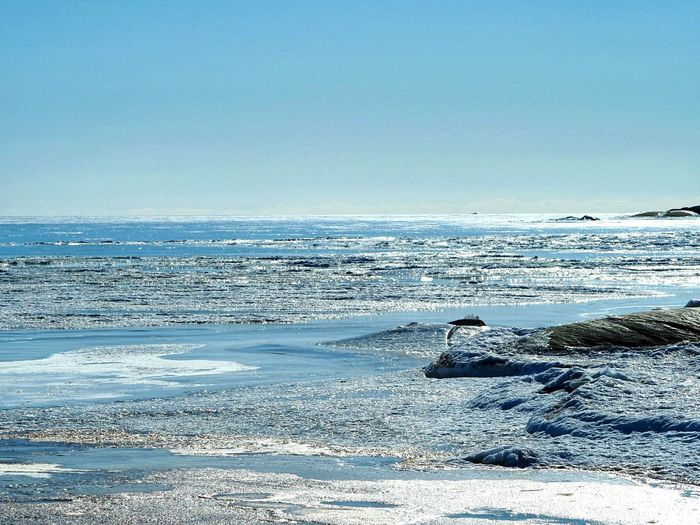 Archipelago Icy Water Frozen Nature Frozen Sea With Snow Nature_collection Nature Beauty Winter Nature Outside Looking At The Sea Enjoying The View Winter Walks On The Beach Beautiful Nature Winter Nature Winter Landscape Sea Beach Water Snow Blue Clear Sky Astronomy Sky Horizon Over Water Landscape