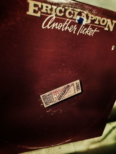 Eric Clapton record Another Ticket