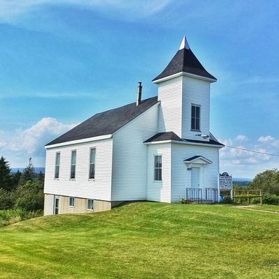 Cute church on the way to Malma a few days ago. • Tstcanada with @explorecanada & @destinationnb • NBSummer ÉtéNB ExploreCanada • Travel Canada Roadtrip Photography •