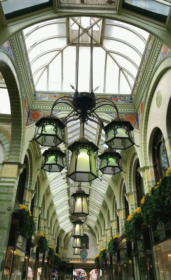 ...Under the green bells.... Architecture Norwich Lights Uk Britain Interior свет Arcade