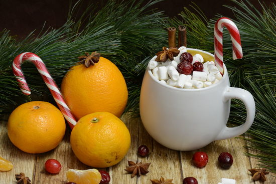 Evening Food And Drink Sweet Food Fruit Freshness Drink Nikon D5200 Nikonphotography EyeEm Selects Mandarins Cranberry Grapefruit Citrus Fruit Cristmastree Food Food And Drink Orange Color Nikon Mashmallow Cacao Warm Still Life StillLifePhotography Stillife