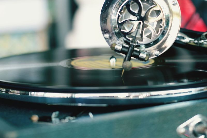 Vintage entertainment Song Gramophone Needle Gramophone Record Claasy Old-fashioned Retro Styled Turntable Selective Focus Close-up Record Music No People Indoors  Day Record Player Needle Technology Gramophone