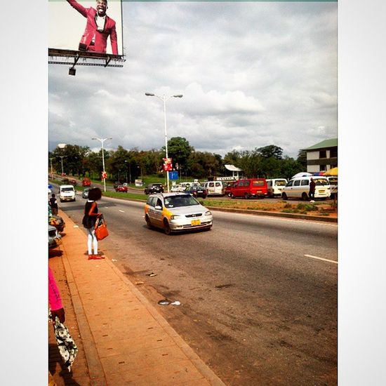KNUST Junction, popularly known as Tech Junction Diaspora Ghana Ghana360 Photowalk ©2014, @iamrobotboy