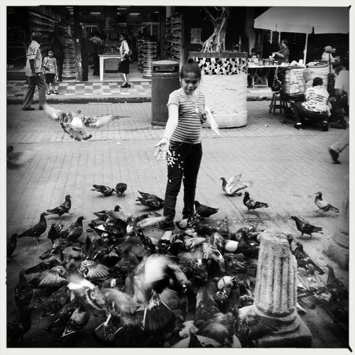 w/ Oggl by Hipstamatic Streetphotography Blackandwhite WeAreJuxt.com AMPt_community