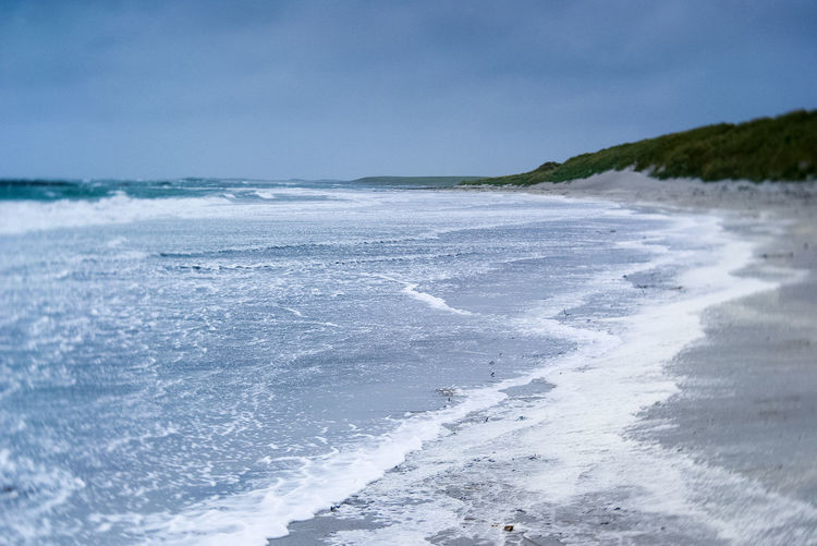 Beach Beauty In Nature Day Incoming Tide Nature No People Outdoors Outer Hebrides Rough Sea Sand Dunes Scenics Sea Tide Water Wave Windy Windy Day