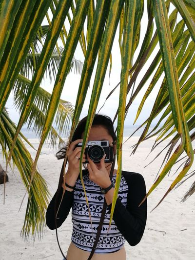 Captured Coconut Leaves Beach Beach Photography Beachphotography Kalanggaman Island Kalanggamanislandleyteph