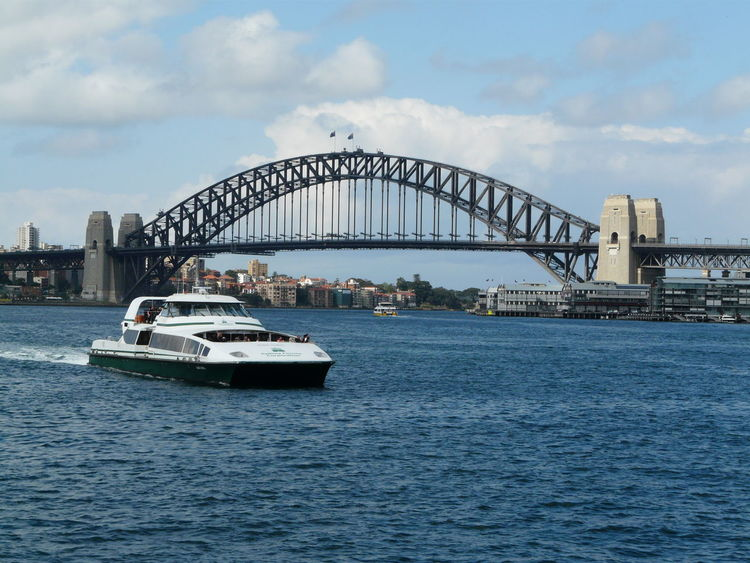 Around Sydney Aussie Icon Australia Built Structure City Life Cityscapes Day Harbour Bridge Outdoors Sky Sydney Harbour  Sydney Harbour Bridge Sydney, Australia