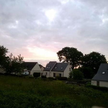 Cloudy Sunset Coucherdesoleil Nuageux Tramonto Anochecer Taupont Morbihan Miamorbihan Bretagne Breizh Sky Ciel Cielo Himmel Nuages Clouds Nuvole Nubes Instasunsets Instaclouds Instagram
