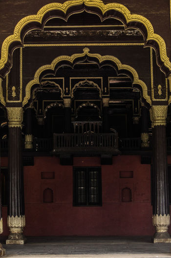 tippu Architecture Built Structure Day Gold Colored Horizontal Indoors  No People Photography Sky Tippusulthan