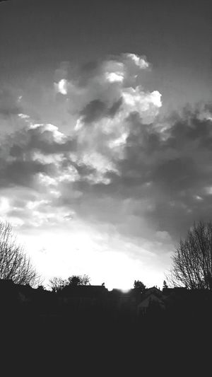 Morning Sky And Clouds Blackandwhite Photography My Black & White World EyeEm Gallery Eyemphotography Eye4photography