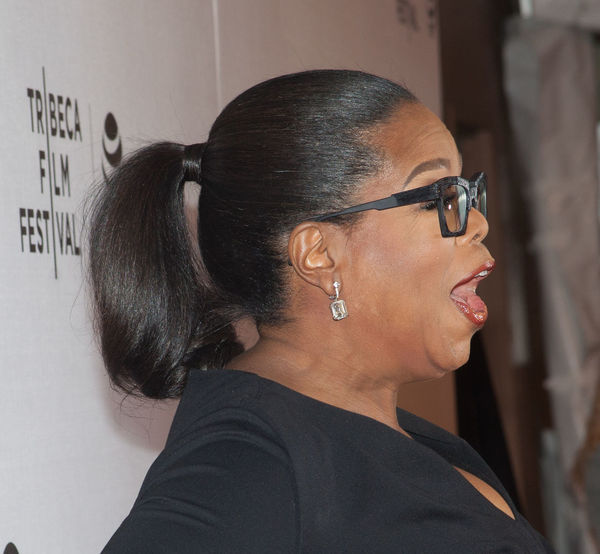 Celebration Celebrity Greenleaf Premiere Joy New York City OprahWinfrey Tribecafilmfest Wearing Black Wearing Glasses