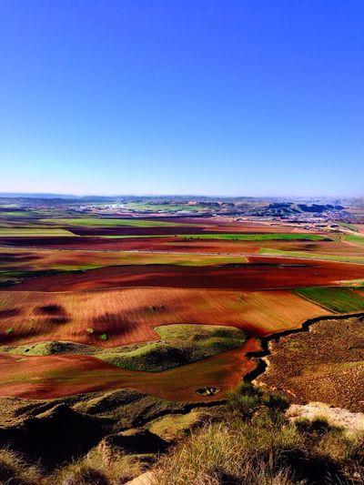 Vista de Alcalá desde el Cerro del Viso Streamzoofamily Landscape Colors Nature