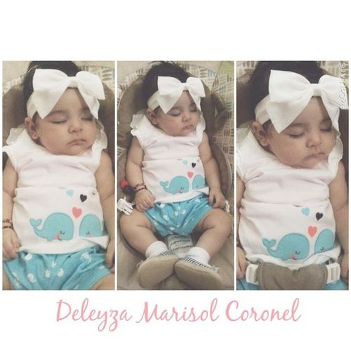 She's growing so fast 😘😱! Stop growing I want to stay how you are Mamas 😘💕! Sobrina Deleyza Marisol Coronel turning Sacas Mes Hoy / 6⃣Month today 👶💕😘! October 19 2014 Deleyza Marisol Coronel 👶💕😘 Sacas Mes ❤️