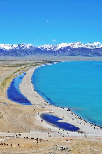 namtso lake in