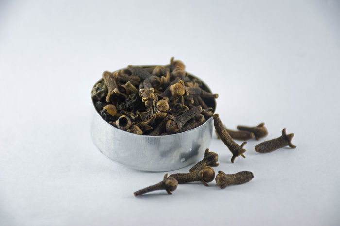 Clove Still Shot Close-up Clove Cloves Day Goa Indian Indoors  Inida No People Spice Spices Spices Of The World Studio Shot White Background