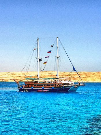 Share Your Adventure Boat Tiran Scuba Diving Tiran Island Sea The Traveler - 2015 EyeEm Awards Live For The Story