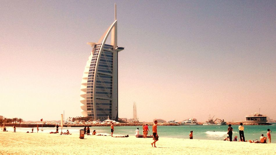 RePicture Travel Burjalarab Jumera Beach Hotsunnyrelaxday Life In Dubail