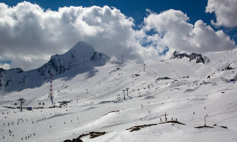 Wintersports Kaprun Austrian Alps Austria Kaprun, Austria Wintersport Alps Beauty In Nature Cloud - Sky Cold Temperature Day Kaprun Landscape Mountain Mountain Range Nature No People Outdoors Scenics Sky Snow Snowcapped Mountain Tranquil Scene Tranquility Weather White Color Winter