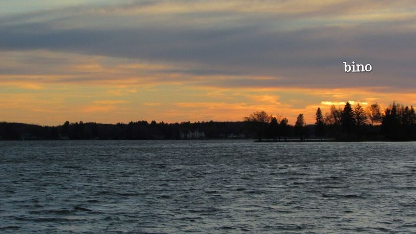 Shooting At Dusk Around The Lake Windy Weather Golden Hour Beauty In Nature Lake Cadillac Pure Michigan
