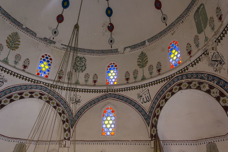 Koski Mehmed Pasha Mosque in Mostar, Bosnia Herzegovina Balkan Bosnia And Herzegovina Ceiling Koski Koski Mehmed Pashina Mosque Mostar Mostar Bosnia Worship Architecture Bosnia Built Structure Ceiling Design Dome Eyemphotography Indoors  Islamic Islamic Architecture Islamic Art Mehmet Mosque Mosque Architecture Mosque Interior No People Religious Architecture