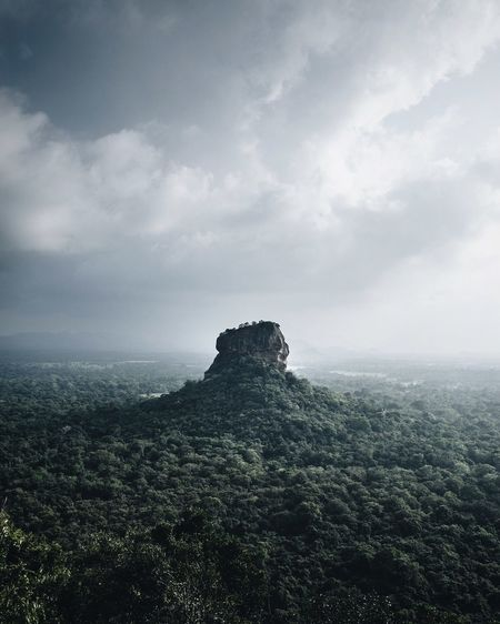 Lion Rock, Sri Lanka Beauty In Nature Cloud - Sky Clouds And Sky Landscape Landscape_Collection Lion Rock Nature Nature Outdoors Scenics Sigiriya Sigiriya Rock Sky Sri Lanka Tranquil Scene Tranquility Travel Destinations Travel Photography EyeEmNewHere