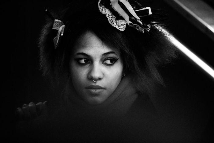 Blackandwhite Black & White Blackandwhite Photography Portrait Portrait Of A Woman B&W Portrait