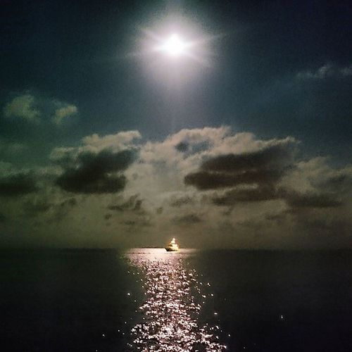 Mangata Moonlight Full Moon Mallorca calaestancia Night
