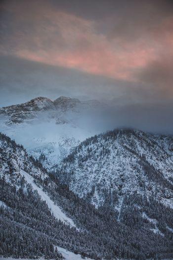 Snow Winter Cold Temperature Nature Mountain