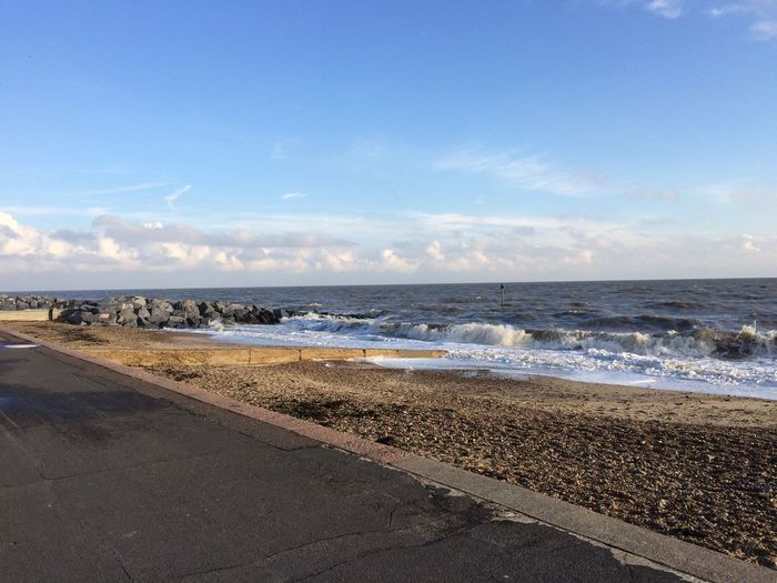 Water Sea Beach Land Sky Beauty In Nature Scenics - Nature