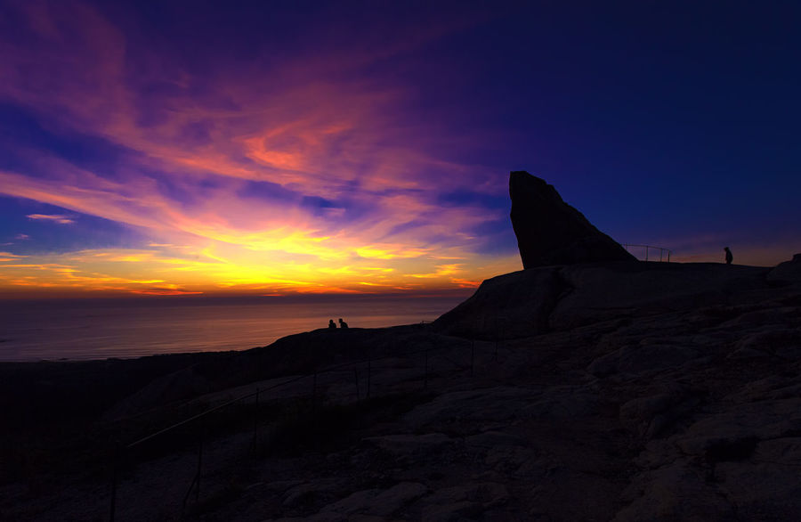 Travel Destinations Sunset Silhouette Nature Sky Beauty In Nature Landscape Champa Red Sky amazing sky