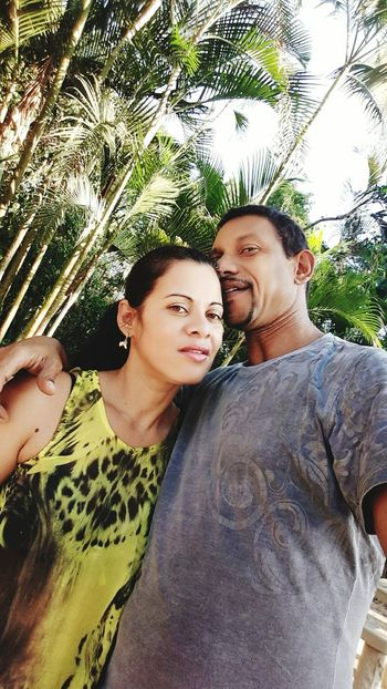 Mary and Saulo - The Valley Family Taking Photos Mywifeismymodel My Selfie Lovers Lovemywife Love❤ In The Forest