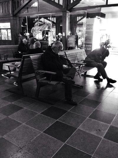 Blackandwhite Light And Shadow Gothenburg Waiting