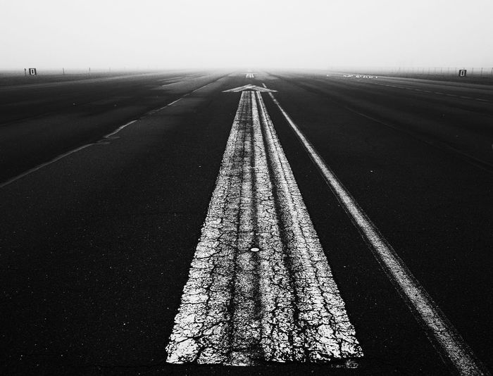 Asphalt Backgrounds Berlin Black And White Blackandwhite Bw Bw_collection Cover Distance Empty Empty Road Endless Fog Home Hope Life Long Road Street Tempelhofer Feld Tempelhofer Feld Tempelhofer Freiheit The Way Forward TakeoverContrast Way BYOPaper!