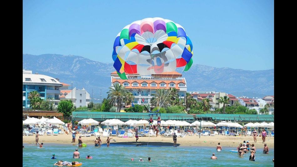 Parasailing Turkey Sommer