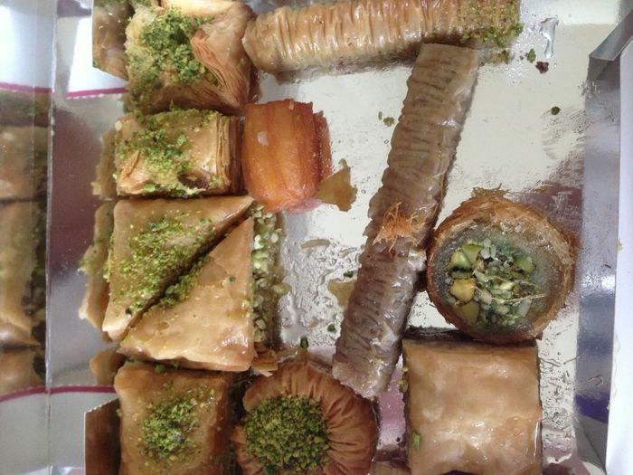 Eating Baklava