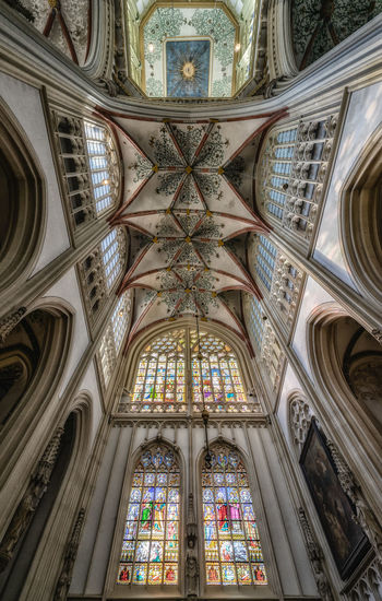 Ceiling Of Cathedral