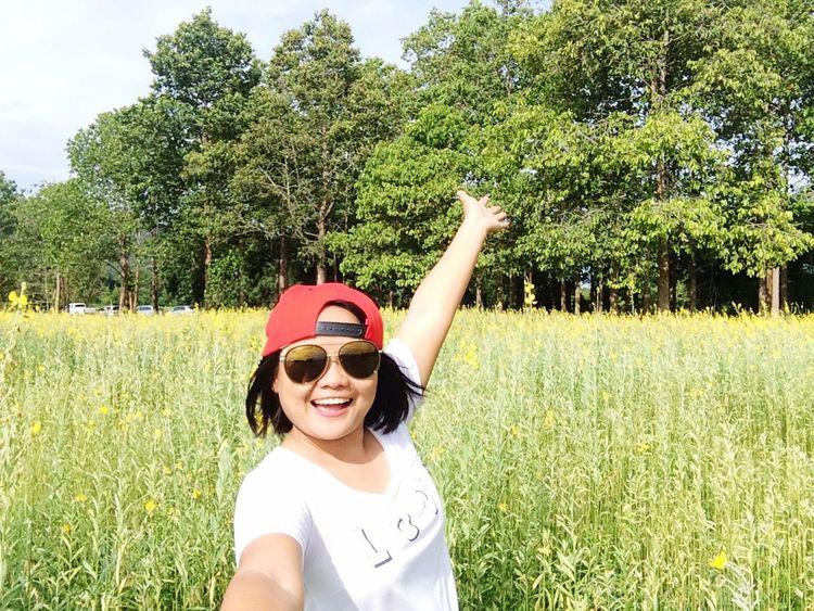 Me Girl Woman Asian Girl Happy Self Portrait Selfie ✌