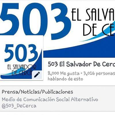 Y seguimos creciendo YoSoy503 @503_DECERCA