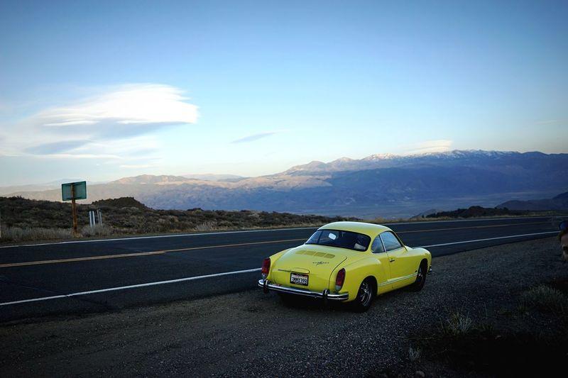 92/365: Roadtrip! // Karmann Ghia in the Sierra Nevada // 2015 In 365 Photos Project 365 Open Edit