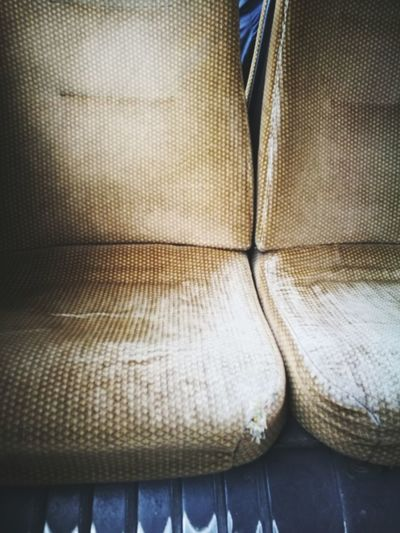 Together forever Bus Seat Old Empty Empty Chair Close-up Fabric Pair Textured  Things That Go Together Textile