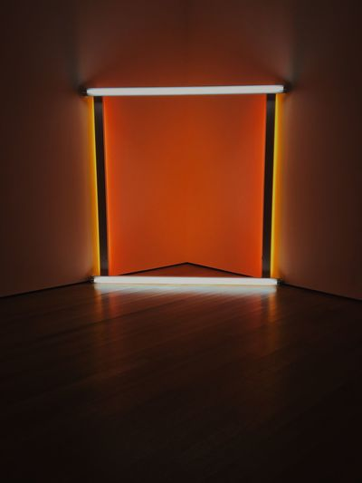 moma New York Newyork Museum Of Modern Art Light Unitedstates United States Museum Indoors  Wall - Building Feature Domestic Room Architecture Red Flooring Built Structure Orange Color Absence Illuminated Brown Empty Wood Wood - Material Copy Space Wall Day Shadow