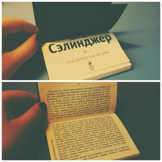 J.D. Salinger The Catcher In The Rye My Book Vscocam