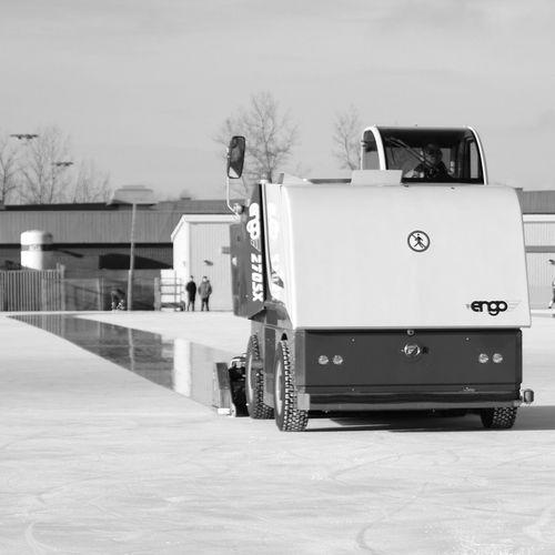 Blackandwhite Photography Ice Machine Ice Winter Bandy Zamboni Ergo Day Outdoors