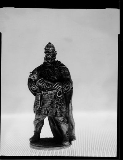 At last I have got something more or less descent with large formad photography. It is famous russian warrior Ilya Muromets. He stood still and patient while I set up the camera. Scale is about 1,5:1, paper negative Slavich Unibrom was scanned with a flatbed scanner. 4x5  GOMZ Ortagoz 4,5/135mm Large Format Macro Paper Negative Tin Soldier
