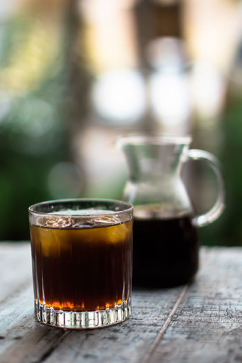 Beverage Close-up Coffee Cold Beverages Cold Brew Day Focus On Foreground Freshness Iced Coffee No People Refreshment Selective Focus Still Life Summer Summer Drink Third Wave Coffee